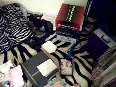 Time to clean my scrapbook room