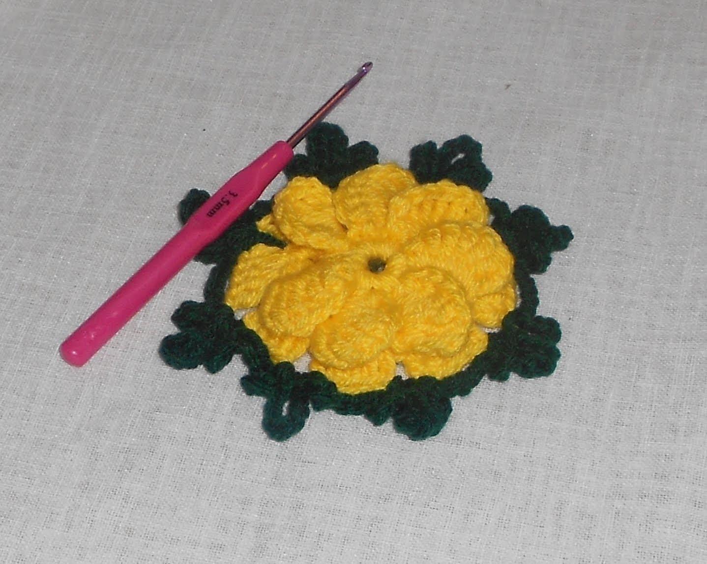 Uncinetto crochet fiore Bell - how to crochet flower - ganchillo flor