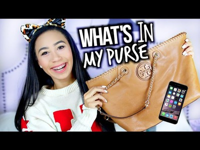 Whats In My Purse? 2015 + Win My Purse and Essentials!
