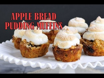 APPLE BREAD PUDDING MUFFINS, HANIELA'S
