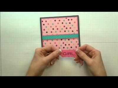 Bo Bunny Sweet Tooth Sweet Girl Card: Product Spotlight & Freebie Friday
