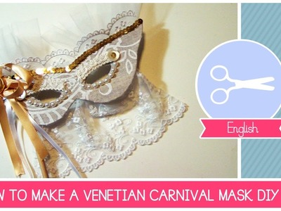 Chic Masquerade DIY Mask - Eyes Wide Shut Style