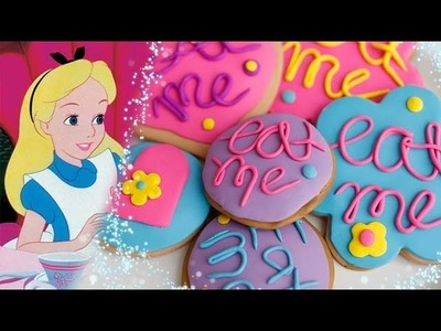 DIY Alice in Wonderland Inspired Polymer Clay Cookies | An Anneorshine Disney Exclusive