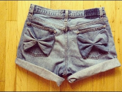 DIY-Bow Pocket Shorts! (By ElisabethBeauty1)