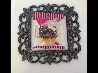 DIY DECO SQUISHY: hello kitty mini donut