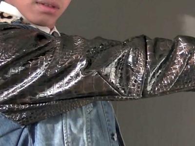 DIY: Denim x Animal Print x Leather Jacket