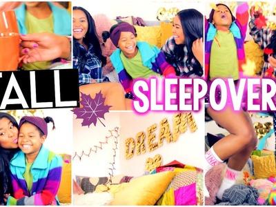 DIY Fall Treats, Outfit + Tumblr Decor, Fall Sleepover  Activities+MORE!
