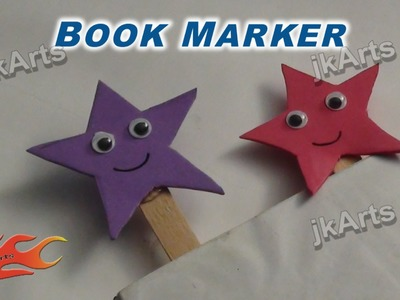 DIY  How to make Bookmarker (Easy craft for kids) -  JK Arts 257