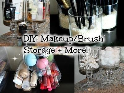 DIY: Makeup.Brush Organizer!