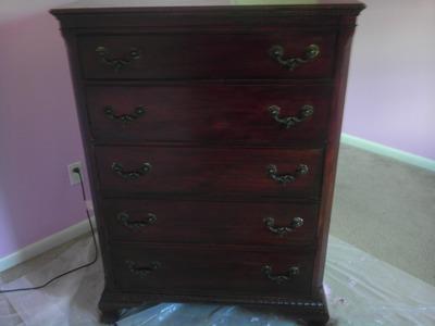 DIY: Refinish a Wood Dresser (MY Easy Way)