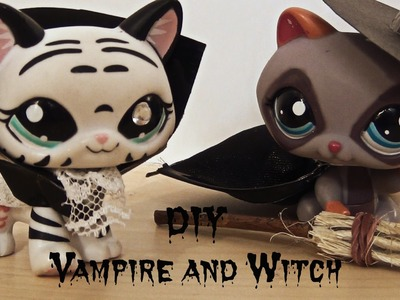 DIY Vampire & Witch costume - Halloween Special