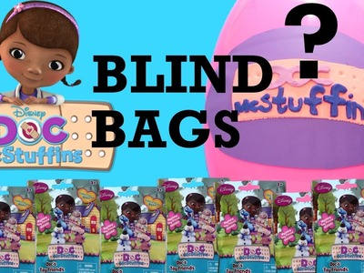 Doc McStuffins Toys | Doc McStuffins Blind Bags Doc's Toy Friends + Surprise Toy Egg Toypals.tv