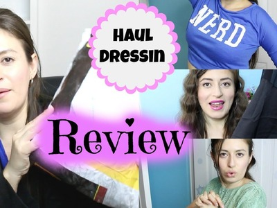 Dressin Haul Reseña | Dressin haul and review