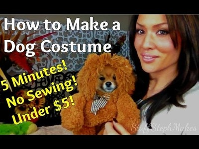 Easy.Adorable.Hilarious DIY Dog Costume