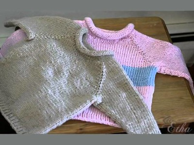 Easy Baby Sweater Pattern