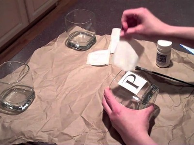 Etching glass using the Silhouette craft cutter