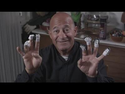 Handmade Cute Finger Puppet : Making Puppets