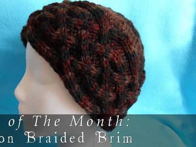 Hat of The Month  |  December 2013  |  Saxon Braided Brim