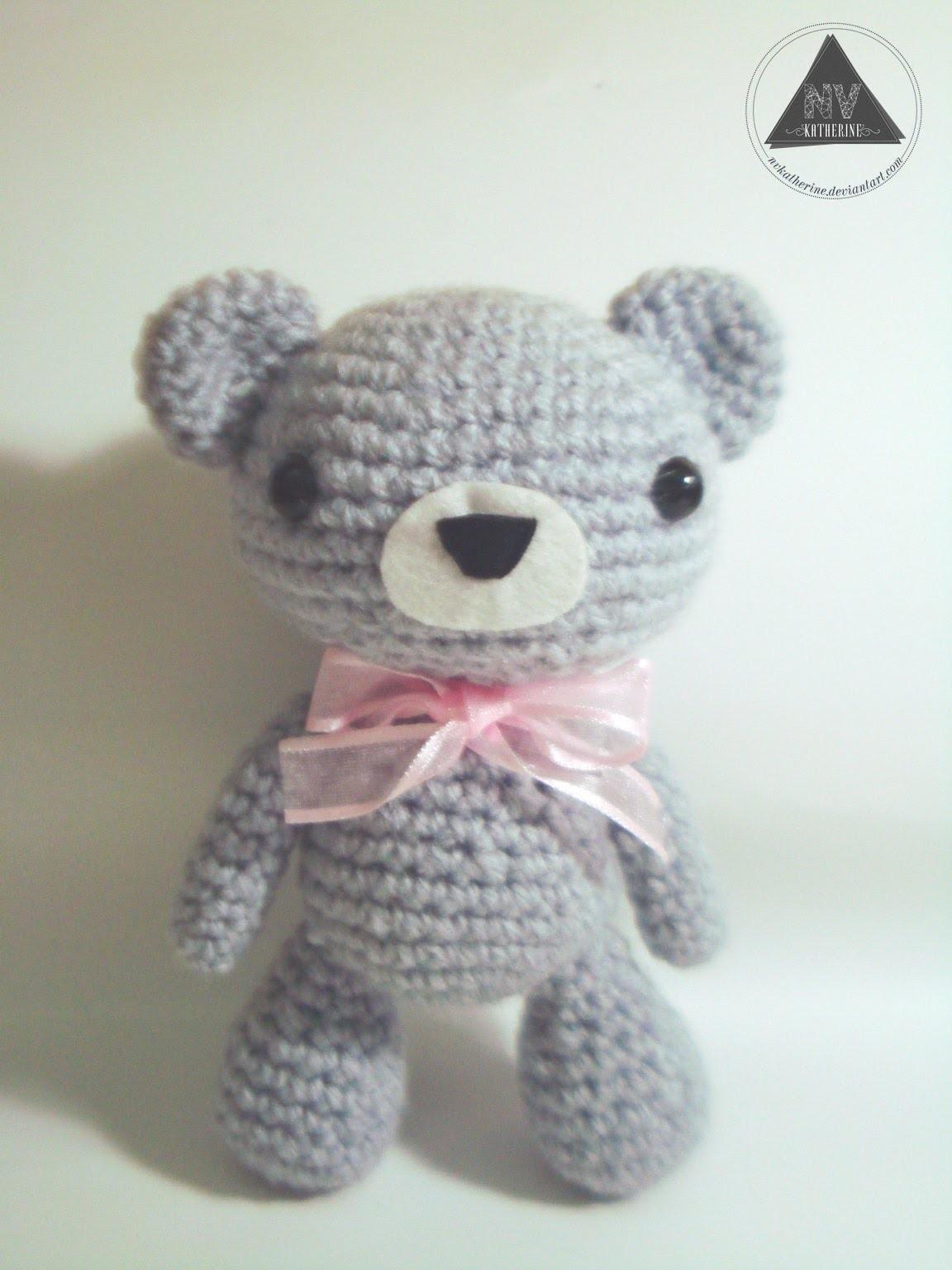 How to crochet a kawaii bear amigurumi tutorial [Part 2.2]