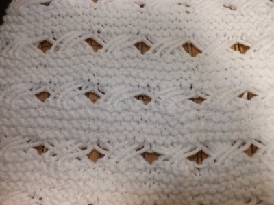 How To Knit Indian Cross Stich