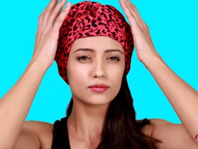 How to Make a Turban using a Scarf [DIY] - Women's Style Guide