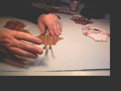 How to make an Easter Basket for Scrapbooking Part 2.wmv