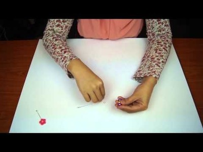 How To Make DIY Shawl. Hijab. Stick Pins - Tutorial 2