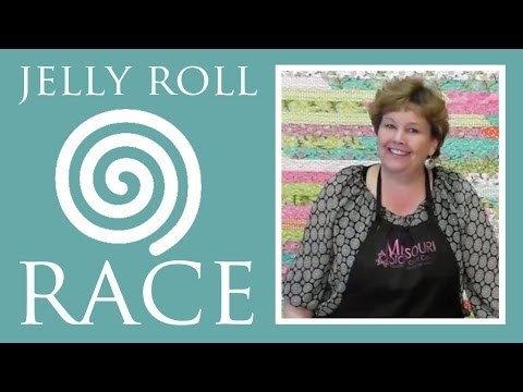 Jelly Roll Race!  A Quilt Top in Less Than an Hour!