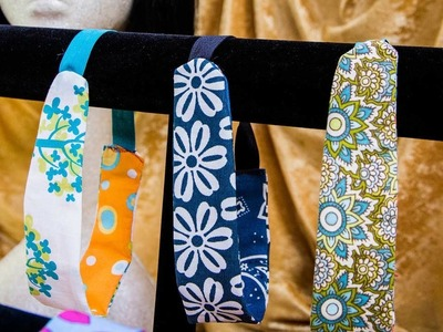 Ken Wingard's DIY Fabric Scrap Headbands