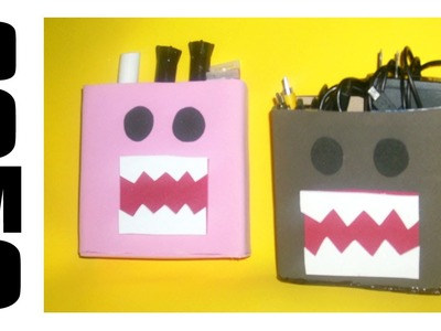 Lapicero DOMO. Back to school craft. Dulcero