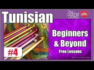 Lesson 4: Crochet Tunisian Entrelac Blocks