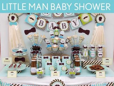 Littleman Baby Shower Party Ideas. Littleman - S12