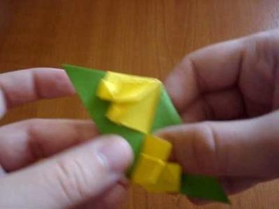 Modular origami petal globe (part 1.2)