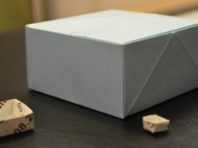 Origami: How to Make a Paper Masu Box