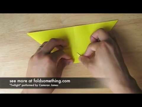 Origami pencil cup. holder