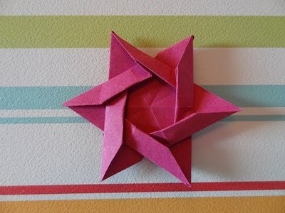 Origami Star of David (HD)