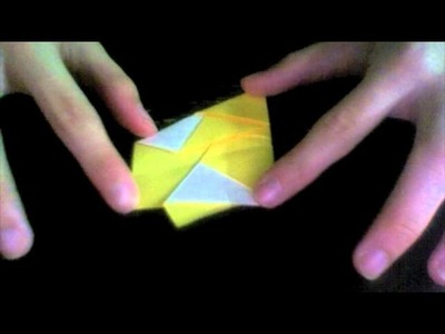 Origami Tutorial: Star of David (Scott Wasserman Stern)