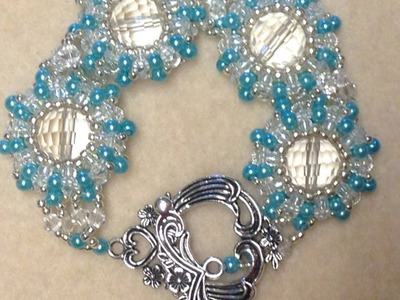 Pearl Wheel Bracelet Tutorial