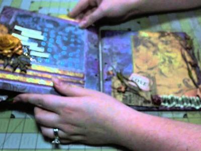 "Scrapbook Mini Album: ""Love the Fall"" 8""x8"" Chipboard Album"