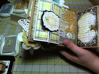 Scrapbook Mini Album: MME Sunshine Paper Bag Album, Part Seven