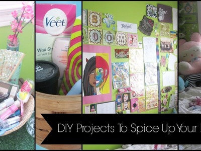 Spring Break DIY's: Projects To Spice Up Your Room ♡