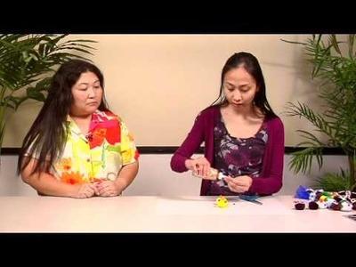 The Joy of Crafting 181.1 - Pom Pom Animal Lei - Penguin & Chick