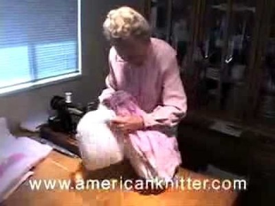 Tie Quilting How To Video 1 of 3 Cutting & Pinning from Americanknitter.com