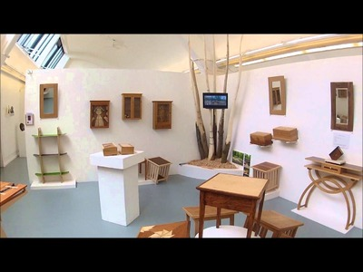 Warwickshire College - Furniture Crafts End of Year Show 2013