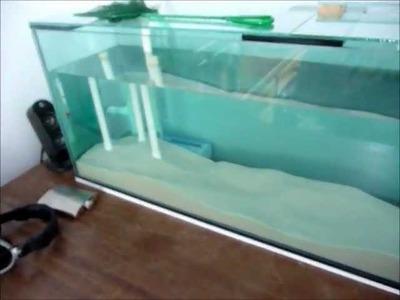 130l Freshwater tank & DIY sump setup