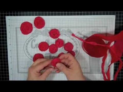 #179 - How to make Crepe Paper Rosettes