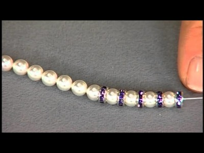1812-3 Katie Hacker makes stretchy bracelets on Beads, Baubles & Jewels