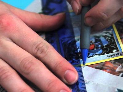 Arts & Crap! Episode 2: Gotta Craft 'em All- Decoupaged Card Tray