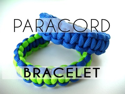 Beading Ideas - Square Knot Paracord Bracelet