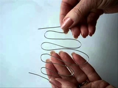 BENT WIRE NECKLACE, how to diy jewelry,